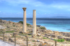 Tharros in hdr Royalty Free Stock Photography