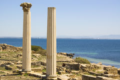 Tharros Ruins Stock Photo