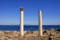 Tharros, San Giovanni di Sinis, Sardegna, Italia Fotografia Stock