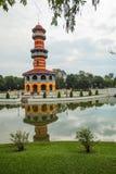 Thasana塔在轰隆痛苦宫殿 泰国 库存照片