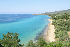 Thasos island , Greece Stock Image