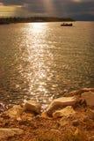 Thassos,希腊 库存照片