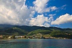 thassos острова стоковое изображение rf