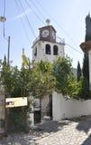 Thassos, el 23 de agosto: Iglesia histórica en el pueblo de Theologos de la isla de Thassos en Grecia Fotografía de archivo