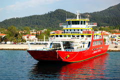 The Thassos ferry Stock Photography