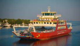 Thassos ferry Royalty Free Stock Image