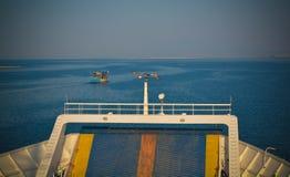 Thassos ferry Royalty Free Stock Photos