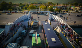 Thassos ferry Stock Images