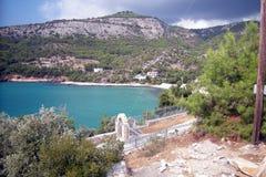 Thassos Grecia Fotografia Stock
