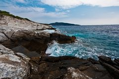 Thassos Greece Royalty Free Stock Image