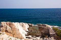 Thassos Greece Royalty Free Stock Images