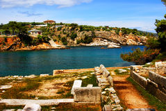 Thassos, Griechenland Stockbilder
