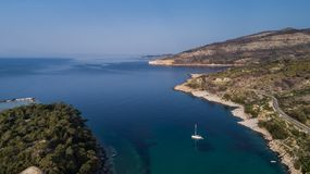 Thassos island, Greece Royalty Free Stock Image