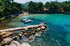 Thassos Island, Greece Royalty Free Stock Image
