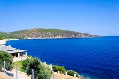 Thassos landscape Royalty Free Stock Image