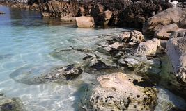 Thassos strand Arkivfoton