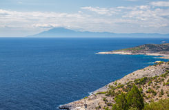 Thassos view Royalty Free Stock Photography