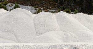 Thassos white marble quarry Stock Image