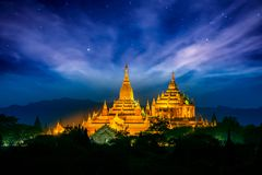 Thatbyinnyu Pahto pagoda stock images