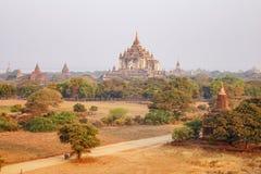 Thatbyinnyu-Tempel in Bagan, Myanmar Lizenzfreies Stockbild