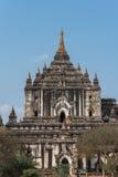 Thatbyinnyu-Tempel der höchste Tempel in Bagan, Myanmar Lizenzfreie Stockfotos
