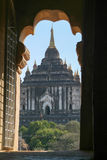Thatbyinnyu temple at the archaeological site of Bagan Stock Images