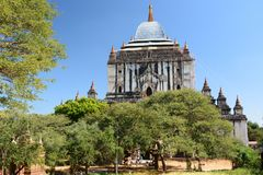 Thatbyinnyu Temple. Bagan. Mandalay region. Myanmar Stock Photos