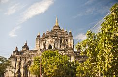 Thatbyinnyu Temple, Bagan, Myanmar Stock Image