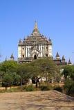 Thatbyinnyu temple Stock Image