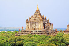 Thatbyinnyu Temple, Bagan, Myanmar Stock Photos