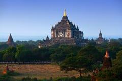 Thatbyinnyu Temple in Bagan, Myanmar Royalty Free Stock Photography