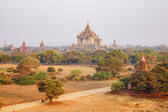Thatbyinnyu Temple in Bagan, Myanmar Royalty Free Stock Image