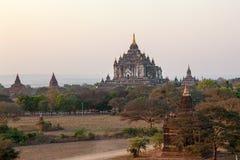 Thatbyinnyu Temple, Bagan Stock Photography