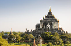 Thatbyinnyu temple, Myanmar Royalty Free Stock Photo
