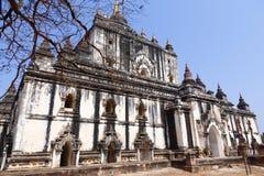 Thatbyinnyut Phaya. The Thatbyinnyut Phaya is the highest temple on the plains of Bagan, in Myanmar (Burma royalty free stock image