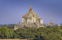 Thatbyinyu pagoda, Bagan, Myanmar Obraz Royalty Free