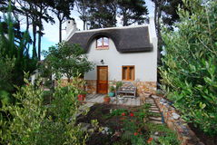 Thatch Cottage. Granny cottage at bottom of garden, Noordhoek, Cape Town Stock Photos