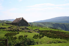 Thatch cottage, Isle of Skye Royalty Free Stock Image