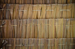 Thatch pattern Royalty Free Stock Photography
