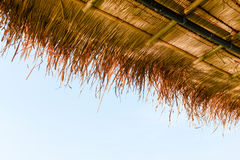 Thatch roof Royalty Free Stock Image