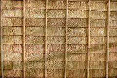 Thatch roof. Background in Thai culture house stock image