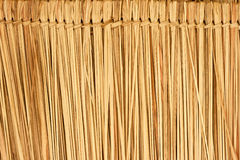 Thatch roof. Closeup of thatch roof texture use for background Royalty Free Stock Photo