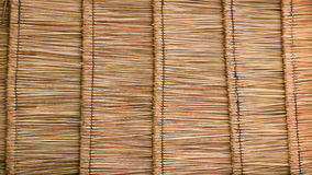 Thatch roof texture Stock Photography