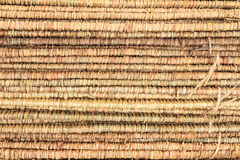 Thatch roof. Tropical thatch roof in Thailand royalty free stock image