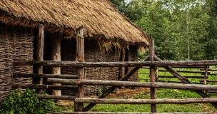 thatched амбар Стоковое Фото
