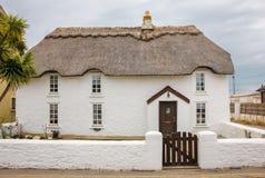 thatched коттедж Набережная Kilmore графство Wexford Ирландия стоковое фото rf