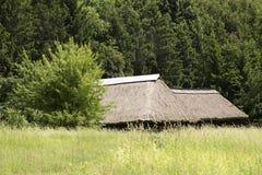 thatched крыша дома Стоковые Фото