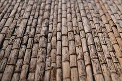 Thatched крыша Стоковая Фотография