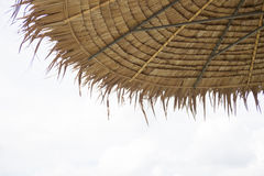 thatched крыша Стоковое Изображение