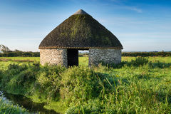 Thatched Barn Stock Photography